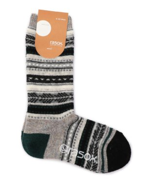 rasox:FAIRISLE WOOL SOX