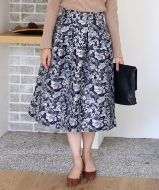 ボタニカルゴブランスカート