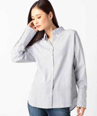 【steady.・mina11月号掲載】ダブルタック折り返しシャツ