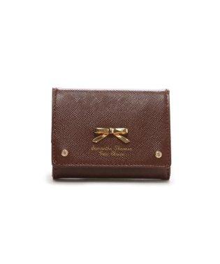 ダスティーシンプルリボン ミニ財布