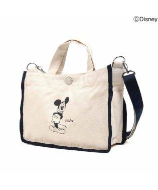 ディズニーミッキーキャンバスバッグ