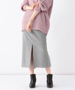【BAILA12月号掲載】Demi-Luxe BEAMS / カシミヤ混 タイトスカート