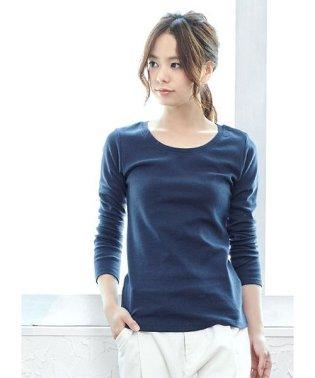 選べる2タイプベーシックロングTシャツ