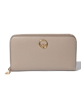 【FENDI】F IS FENDI/長財布【DOVE+SOFT GOLD】