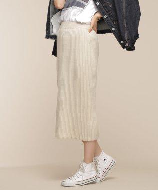 【CLASSY 1月号掲載】ワイドリブIラインスカート