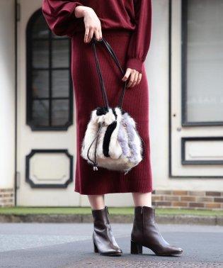 Casselini / エスキモー 巾着バッグ