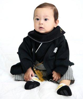 男児袴カバーオール