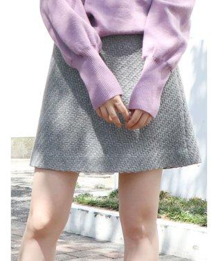 【bis1月号掲載】チェックスカート