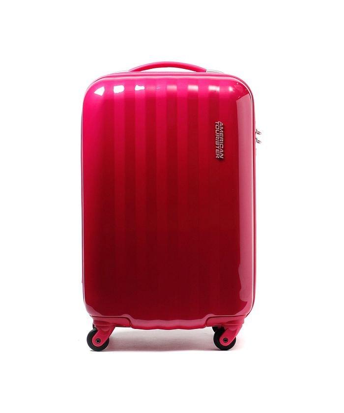 (Samsonite RED/サムソナイトレッド)サムソナイト アメリカンツーリスター スーツケース AMERICAN TOURISTER Prismo 30L Samsonite 41Z*001 46292/ユニセックス ピンク