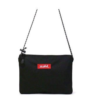 エックスガール サコッシュ X-girl ショルダーバッグ BOX LOGO SACOCHE ショルダー ロゴ 05175060