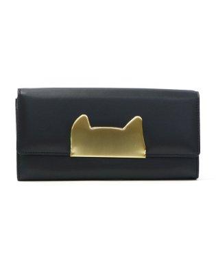 ツモリチサト 財布 tsumori chisato CARRY 長財布 二つ折り ネコネコ かわいい 革 57394