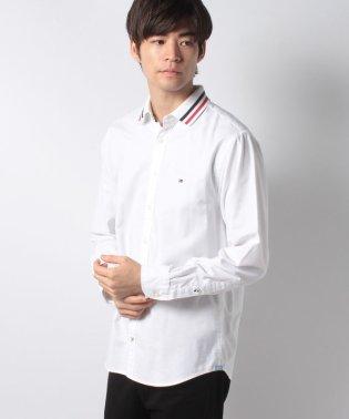 リブカラーシャツ