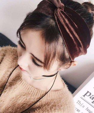ベロア ヘアバンド レディース 幅広 ヘアアクセサリー 髪飾り 雑貨 無地 ヘッドバンド