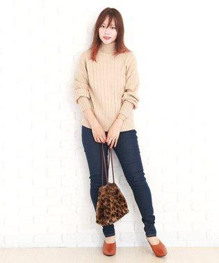 裏起毛あったかジーンズ  ファッション レディース 冬用 秋用 スリム 防寒性【vl-5287】【A/W】