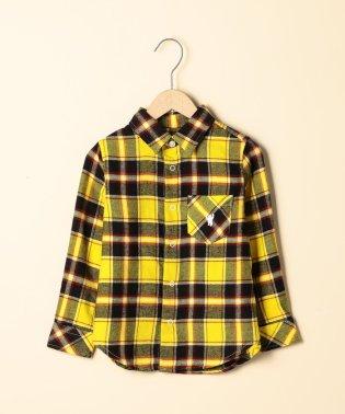 【coen キッズ / ジュニア】タータンネルチェックシャツ(ネルシャツ・100~150cm)