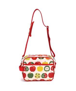 【入学・入園グッズ】通園バッグ おしゃれリンゴのひみつ(アイボリー)