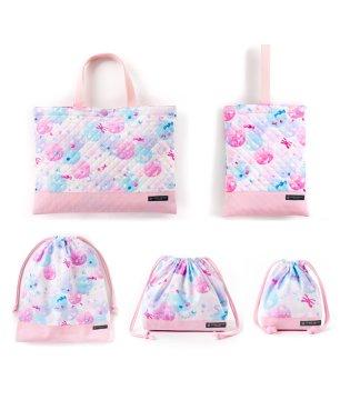 入園入学セット キルティング ふわふわキュートなキャンディポップ(ピンク)