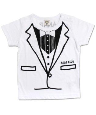 タキシードプリントTシャツ