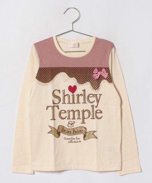 ラメプリントTシャツ(140cm)