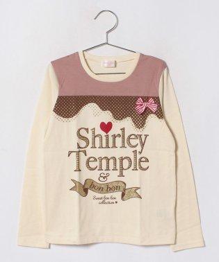 ラメプリントTシャツ(150~160cm)