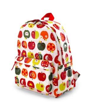 【入学・入園グッズ】リュックサック(チェスベルト付き) おしゃれリンゴのひみつ(アイボリー)