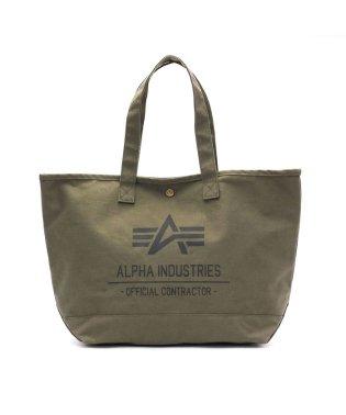 アルファインダストリーズ トートバッグ ALPHA INDUSTRIES ミリタリー B4 帆布 40105
