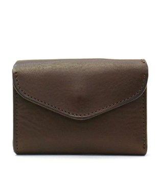 クランプ 財布 Cramp 三つ折り財布 Italian Shrink Leather 本革 レザー ミニ財布 三つ折り 小さい財布 池之端銀革店 Cr-170