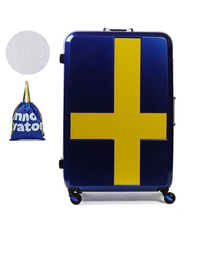 (innovator/イノベーター)イノベーター スーツケース innovator キャリーケース フレーム 軽量 旅行 INV68T(90L 7〜10日 Lサイズ)/ユニセックス ネイビー系1