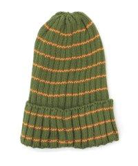 ボーダーニット帽