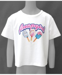 アイスプリントクロップドTシャツ