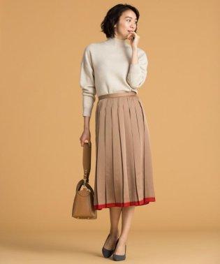 【洗える】COLOR SCHEME PLEAT スカート