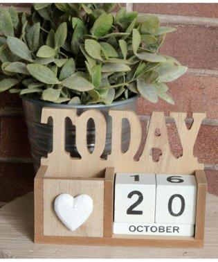 TODAYウッドカレンダー
