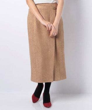スウェードボンディングスカート