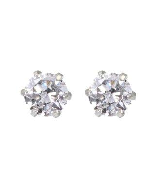 Hカラークラス 天然ダイヤモンド 計0.5ct Pt900 6本爪 プラチナ スタッドピアス