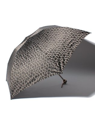 婦人分解ミニP先染ロゴジャカード(折りたたみ傘)
