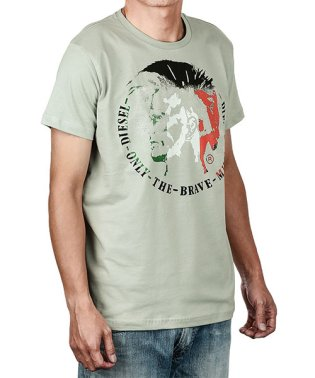 DIESEL T-MILAN MAGLIETTA Tシャツ 00CMZA メンズ