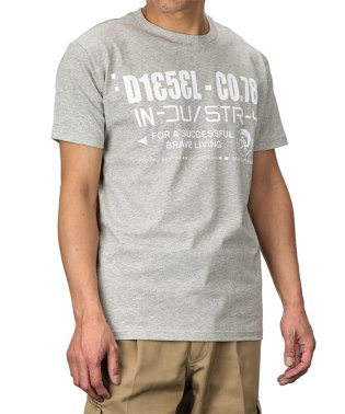 DIESEL T-NUCK MAGLIETTA Tシャツ 00S4Y1 メンズ