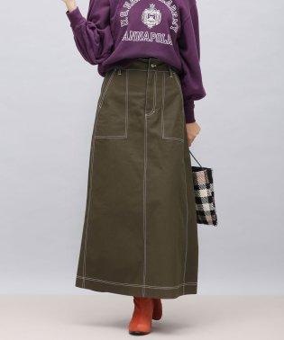 【WEB限定】キャンバスステッチマキシスカート