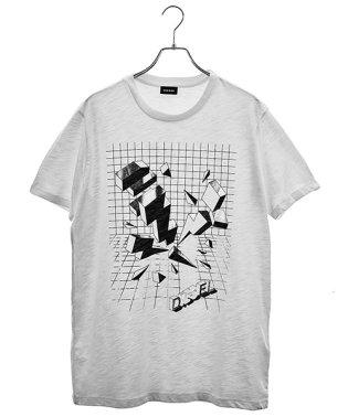 DIESEL T-JOE-SX MAGLIETTA Tシャツ 00SXNS メンズ