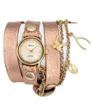 LA MER COLLECTIONS GLITTERコラボレーション 腕時計 LMMULTI2017G2-WE レディース