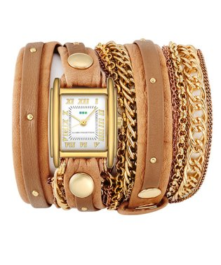 LA MER COLLECTIONS DOUBLE CHAIN WATCHES 腕時計 LMDUOSTUD003 レディース
