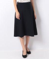 【セットアップ対応】12Gミラノリブニットフレアースカート