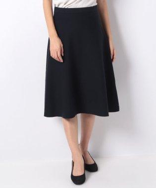【セットアップ対応商品】12Gミラノリブニットフレアースカート