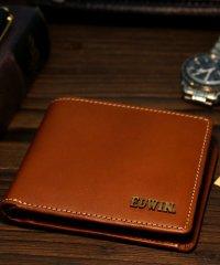 【EDWIN】ボンデッドレザー2つ折り財布