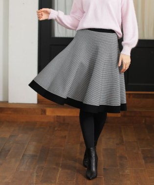 【ウォッシャブル】サーブルストレッチニットスカート