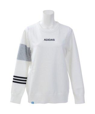 アディダス/レディス/JP ADICROSS カラーブロック L/S クルーネックセーター