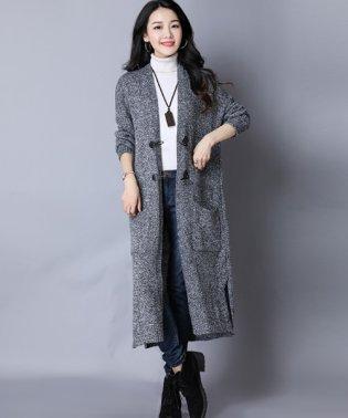 エレガントロングコート 韓国 ファッション レディース 秋用 冬用 大人 上品【A/W】【ra-2033】