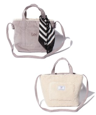 【Lee×SMIRNASLI】  Reversible Mini Tote