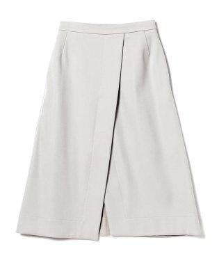 Demi-Luxe BEAMS / フロントラップ スカート