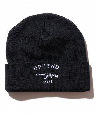 DEFEND PARIS(ディフェンド パリス) PARIS BONNET ニットキャップ/ビーニー